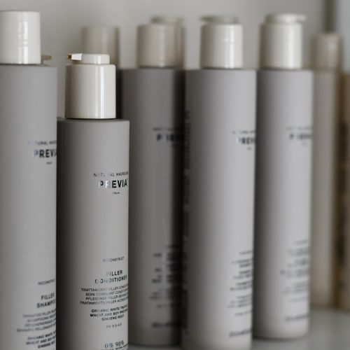 Shampoo en haarspray van Previa